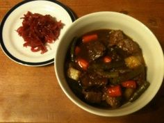 GAPS Beef Stew. With a trick for thickening stews and soups without flour, potatoes, or cornstarch. (Stage 2)
