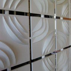Love 3D wall tiles? Get this look here: http://www.texturaldesigns.com