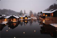 Hoshinoya Karuizawa middle of winter