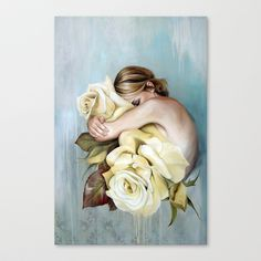 Self Stretched Canvas by Emma Über. Available from Society6.
