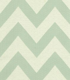 Upholstery Fabric- HGTV HOME Chevron Chic GlacierUpholstery Fabric- HGTV HOME Chevron Chic Glacier,