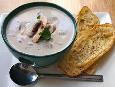 Supa crema de ciuperci cu nuci. De nerefuzat!