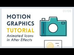 Intro to Motion Graphic Icons: Camera [1/8] | After Effects Tutorial - YouTube