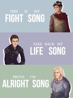 Throne of Glass; Fight Song