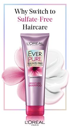 What's so great about sulfate-free haircare? Find out now! With L'Oréal Paris EverPure Sulfate-Free Color Care System.