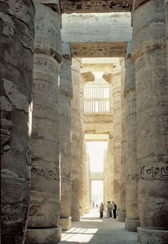 Hypostyle Hall, Temple of Amun, Karnak, Egypt