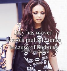 Little Mix Facts  Girl your freaking beauiful I don't know why people would ever bully you then and now!!! @Jess Pearl Liu Sotier Yeager Nelson