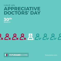 Have an appreciative doctors day! Check out our FUTURAMO ICONS – a perfect tool for designers & developers on futuramo.com