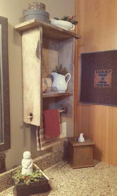 decor house tour is rustic farmhouse decor decor wholesale decor for bathroom decor svg to farmhouse decor decor houston decor greensboro nc Primitive Homes, Primitive Country Bathrooms, Primitive Kitchen, Country Farmhouse Decor, Country Primitive, White Farmhouse, Modern Farmhouse, Farmhouse Style, Prim Decor