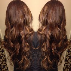medium brown and added #balayage #highlights