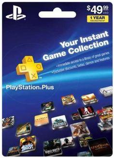 1-Year PlayStation Plus Membership