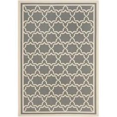 @Overstock - Perfect for any backyard, patio, deck or along the pool, this rug is great for outdoor use as well as any indoor use that requires an easy to maintain rug. This rug has a Dark Grey background and displays stunning panel color of Beige.http://www.overstock.com/Home-Garden/Dark-Grey-Beige-Indoor-Outdoor-Rug-53-x-77/6511716/product.html?CID=214117 $84.99