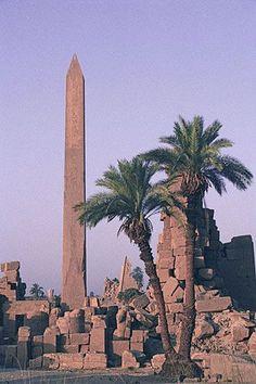 Obelisk of Queen Hapshetsut, King's Valley, Luxor - Egypt