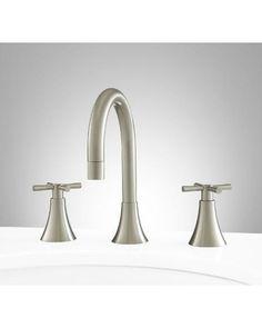 Pfister Brea 8 In Widespread 2 Handle Waterfall Bathroom Faucet In