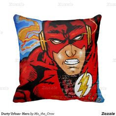 Durty Urban~ Hero Pillow