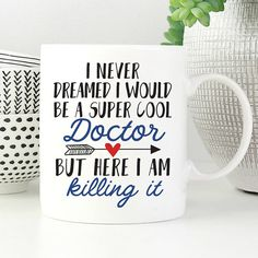 Funny Doctor Gift, Doctor Graduate Gift, Medical Student Gift, Gift For Doctor, Doctor Appreciation, Cool Doctor Mug, Pediatrician Mug