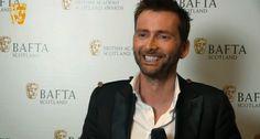 VIDEO: David Tennant Talks Backstage At the BAFTA Scotland Awards