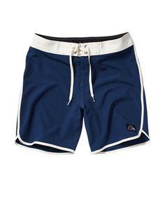 f66fb390bc01c VIBOG Scallop 9 Boardshorts by Quiksilver - FRT1 Hurley Clothing, Mens Swim  Shorts, Surf
