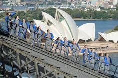 Go to the top of Sydney Harbour Bridge with Sydney BridgeClimb!