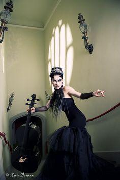 Orchestra in the dark II by Annie-Bertram.deviantart.com on @DeviantArt