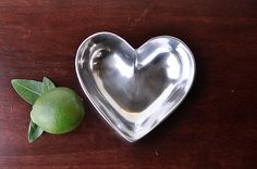 Old Town Imports Aluminum Serveware Heart Dish - Small {PRESALE ONLY}. $5.99 regularly $11.99