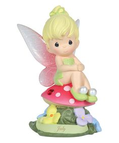 Another great find on #zulily! July Tinker Bell Figurine by Disney Showcase Collection #zulilyfinds