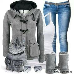 Cute and casual for winter