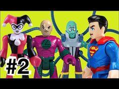 #2 Super Homem Superman X Darkseid Brainiac Lex Luthor Coringa Joker Arl...