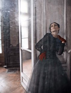 Adrian Abascal by Deborah Turbeville for Vogue Italia, March 2013 Haute Couture Supplement
