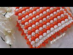 JAPON ŞEMSİYESİ LİF&BEBEKBATTANİYESİ ©EASTY CROCHET, NEWKNİT - YouTube Baby Knitting Patterns, Crochet Patterns, Crochet Scarves, Crochet Hats, Crochet Crocodile Stitch, Filet Crochet, Paper Decorations, Make It Yourself, Embroidery