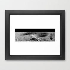 Apollo 16 Framed Art Print by Planet Prints - $31.00