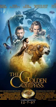 The Golden Compass, directed by Chris Weitz Golden Compass Movie, Iorek Byrnison, Lyra Belacqua, Dna Art, Dakota Blue Richards, The Light Is Coming, Jesus Painting, His Dark Materials, Movie Posters
