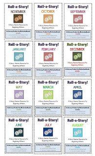 "The Lesson Cloud -- ""Roll-a-Story Bundle"" (MsJordanReads)"