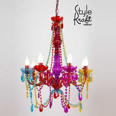 awesome Kid Craft Chandelier