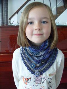 road trip crochet scarf