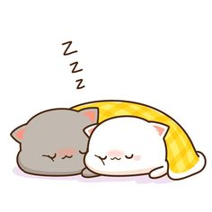 https://m.weibo.cn/3540182725/4195826194423038 Cute Animal Drawings, Cute Love Drawings, Kawaii Drawings, Anime Stickers, Cute Stickers, Chibi Cat, Cute Chibi, Anime Animals, Cute Animals