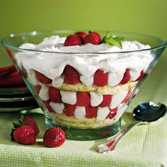 Strawberry-Sugar Biscuit Trifle   Serve this ultimate Southern dessert featuring sweet Sugar Biscuits, fresh strawberries and rich Trifle Custard at your next gathering and it's sure to be a hit.