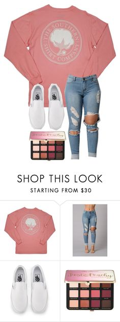 """""""Untitled #417"""" by koiiii ❤ liked on Polyvore featuring Vans and Sephora Collection"""