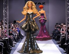 Collecting Fashion Dolls by Terri Gold: OVAZ' New Fashion Show Now Open