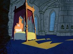 kidhorrorfanblog:  Backgrounds by Philip DeGuard for Transylvania 6-5000 (1963)  gawd i love stuff like this <3