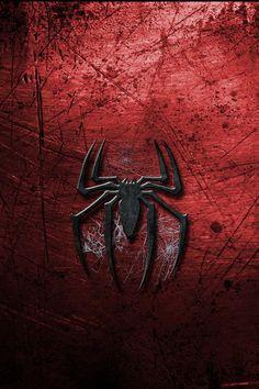 Spiderman Logo UHD Wallpaper On MobDecor