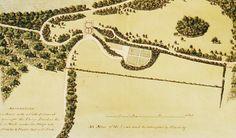 Plan for Bournehill Cottage ( now Cadland, Hampshire) c.1775