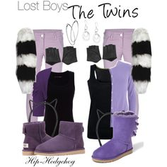 Lost Boys - The Twins disney Peter Pan outfits