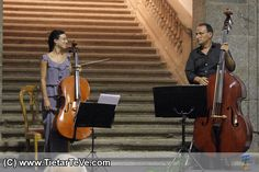 Pragma Música, violochelo y contrabajo en Arenas de San Pedro - TiétarTeVe
