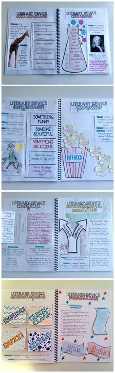 Literary devices interactive dictionary... Help students explore figurative language with fun, engaging activities! Grades 5-8 $
