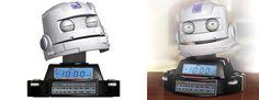 Mr. Clock Radio - World's First Robot Radio!