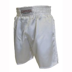 Solid White Boxing Shorts  $25.00