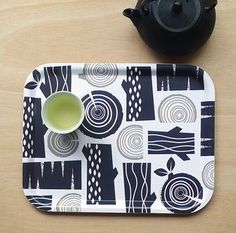 Logpile tea tray by roddyandginger on Etsy, $45.00