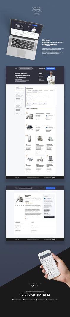 Landing page for Depharm