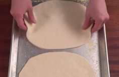 Yes, you read that correctly— pizza dough out of only two ingredients! It's almost like magic, and you can whip it up and bake it in under an hour. Watch!